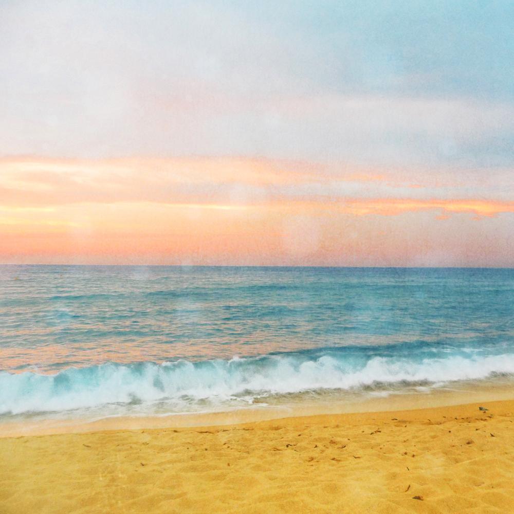 Sunset Beach Photograph Art Print on Luulla